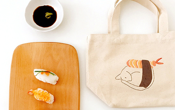 Illustration Cotton Tote Bag