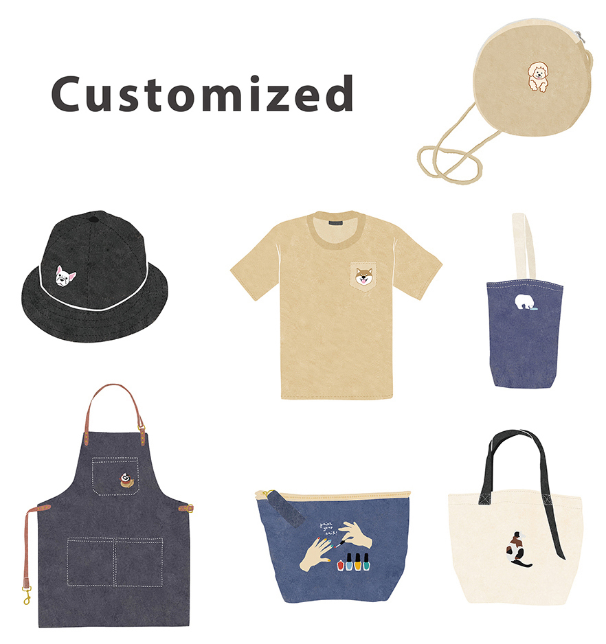 Customize our Bags